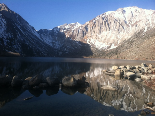 Convict Lake Is Ice Free!