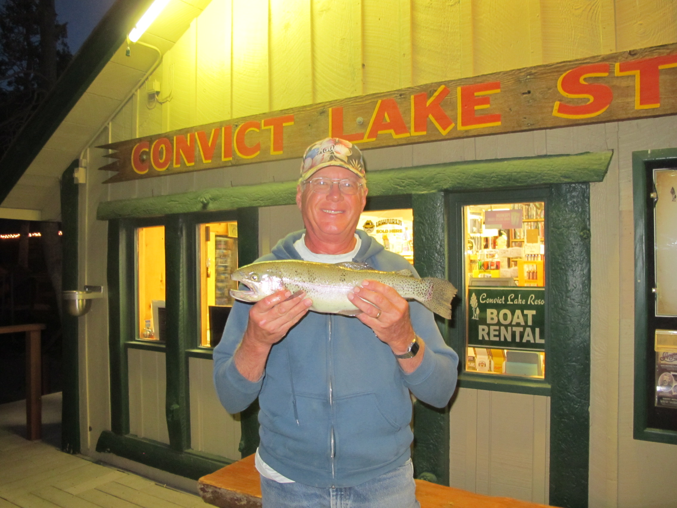 Fishing reports august 31 2013 convict lake resort for Convict lake fishing report