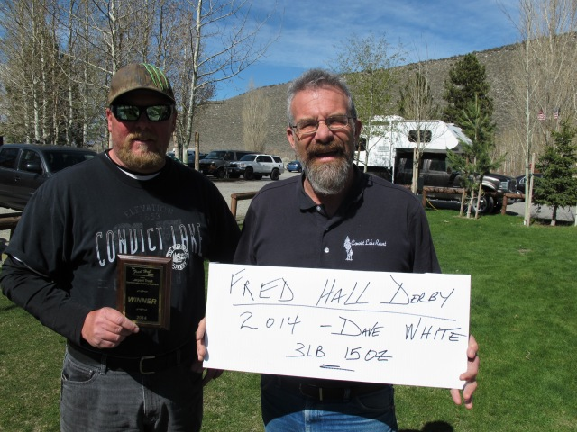 Dave White - 1st  Place Fred Hall Largest Fish