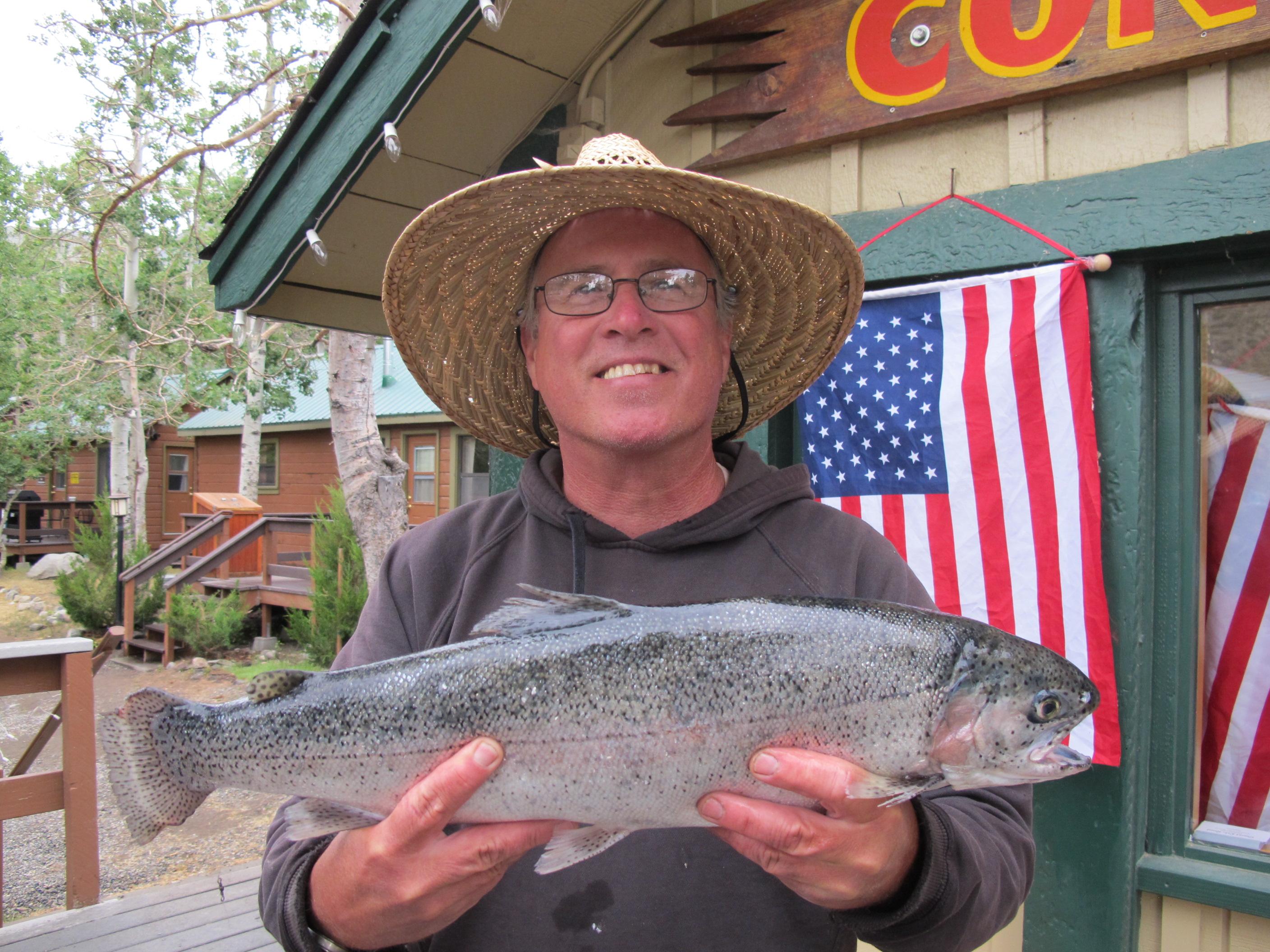 Fishing report july 19 2014 convict lake resort for Convict lake fishing report